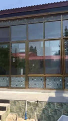 Aluminium frame sliding glass window on China WDMA