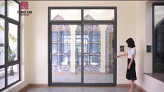 Customized glass window and door for sale on China WDMA