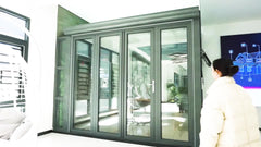 Alwew nice price Guangdong Foshan aluminum folding doors on China WDMA