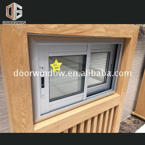 OEM Factory aluminium window accessories suppliers used frames openable windows details on China WDMA
