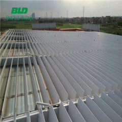 OEM Service vertical opening window wall aluminium aerofoil louver blade price on China WDMA