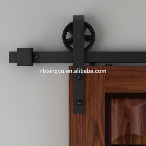 OEM custom made sliding barn door hardware on China WDMA