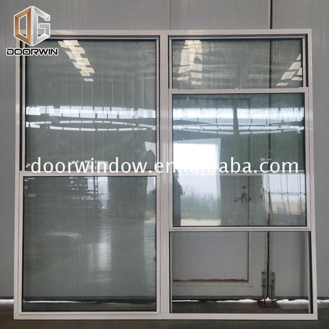 OEM who makes the best double hung windows white whats difference between single and on China WDMA