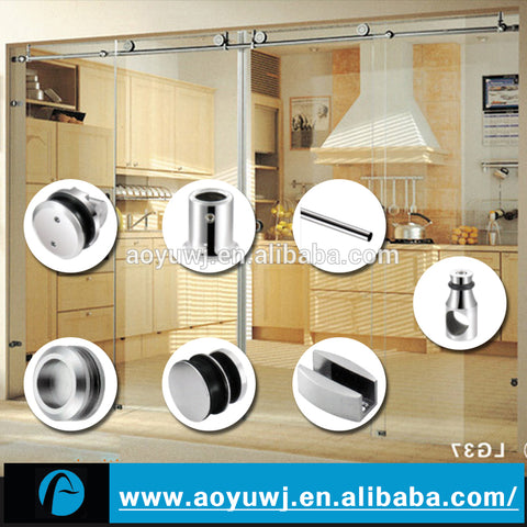 Oem Interior And Exterior Folding Barn Sliding Door Hardware on China WDMA