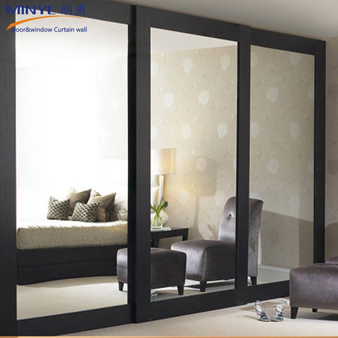 Office door exterior glass door/ sliding door inside with blinds on China WDMA on China WDMA