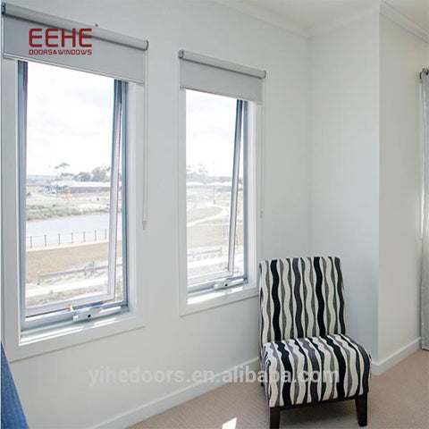 Outward Opening Casement Aluminum Window for Curtain Wall on China WDMA