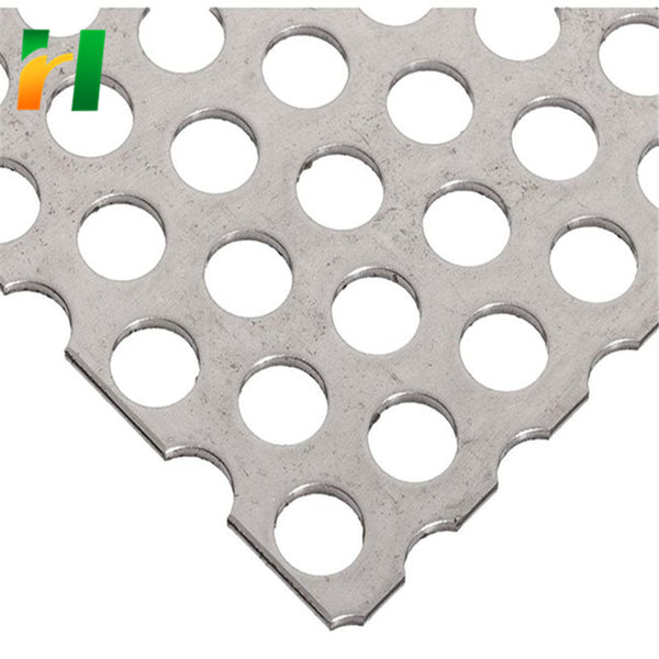 Oval Perforated Metal Mesh punched round hole mesh/plate/sheet/net on China WDMA