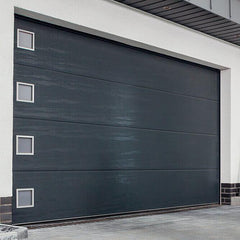 Overhead steel garage door modern window inserts cost on China WDMA