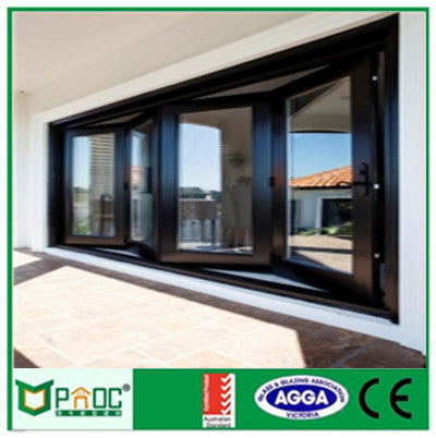 PNOC011601LS High quality Aluminum folding window on China WDMA
