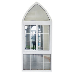 PVC sliding window design UPVC double glazed sliding windows on China WDMA