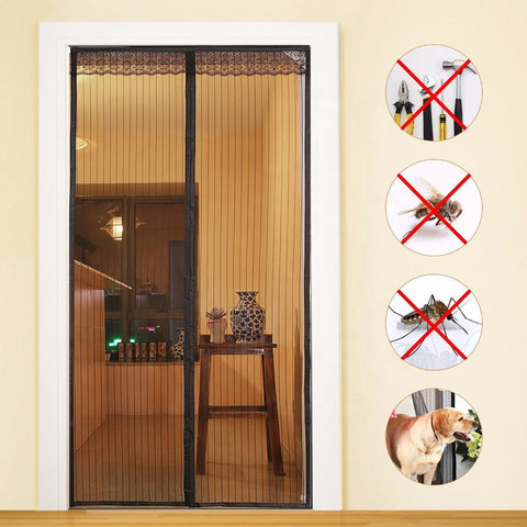 Patio Insect Magnetic Mesh Sliding Screen Door on China WDMA