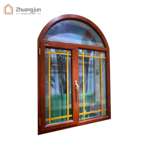 Philippines Aluminum Double Glass Casement Windows and Doors on China WDMA
