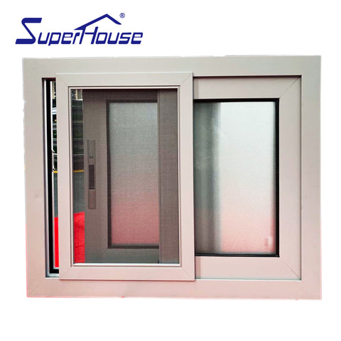 Philippines price aluminium window frame and glass design office sliding type window on China WDMA