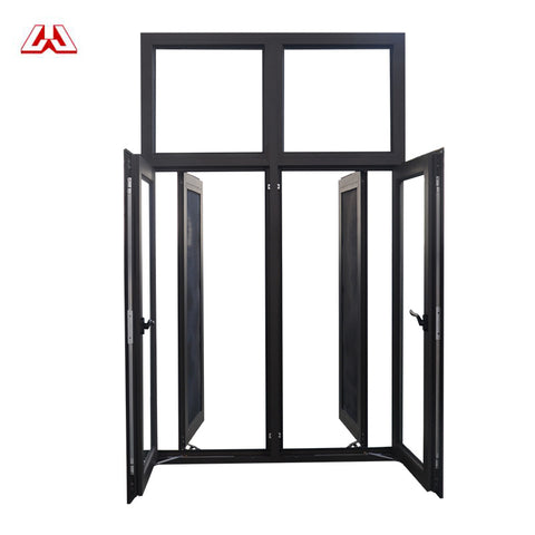 Plastic Frame Heat-proof Internal Opening Pvc Double Hung Upvc Sash Horizontal Pivoting Casement Window on China WDMA