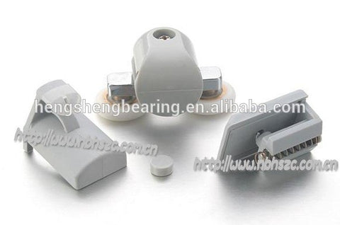 Plastic Hook and double shower screen sliding door rollers bearing on China WDMA