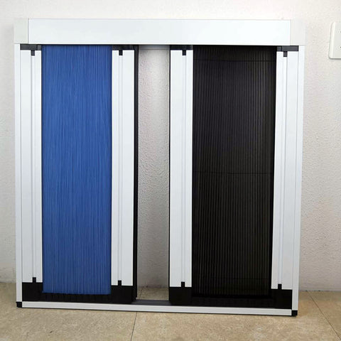 Plisse Screen Folding Insect Screen Blind Window best for door on China WDMA