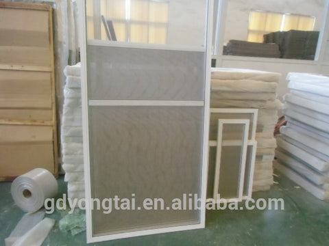 Popular Double Glazed UPVC/PVC Sliding Window with Special Design on China WDMA