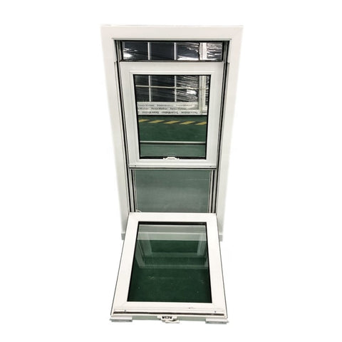 Popular Thermal Insulation Aluminum Vinyl UPVC American Double Hung Windows on China WDMA