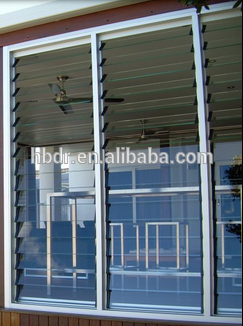 Popular style louvre window glass for shutter on China WDMA