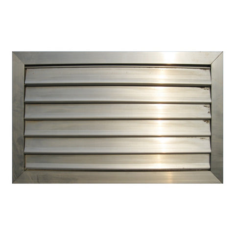 Powder Coated Aluminum Louver Window Panel on China WDMA