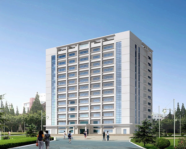 Prefab steel frame multi-storey apartment / steel structure building modern design on China WDMA