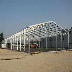 Prefabricated construction steel structure used low cost industrial factory shed designs on China WDMA