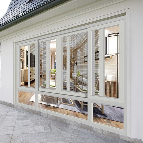 Preferred monumental double glazing fire rated thermal break sound proof aluminium sliding window price on China WDMA