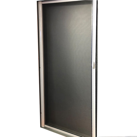 Pretty design newly mesh portable folding sliding fly screen door on China WDMA