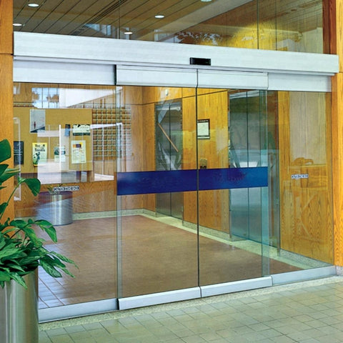 Prices System Mechanism Glass Auto Motor Doors Low Price Sensor Aluminum Sliding Automatic Door on China WDMA