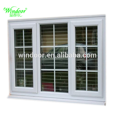 Pvc Windows With Built in Blinds/Awing/Sliding on China WDMA
