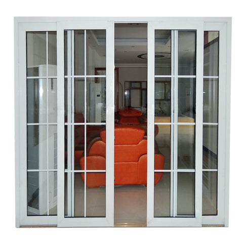 Pvc profile window and door,3 panel french doors for chinese sliding door on China WDMA