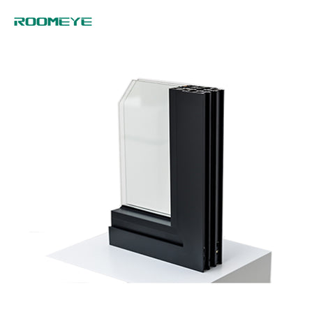 ROOMEYE latest design aluminum french sliding window on China WDMA