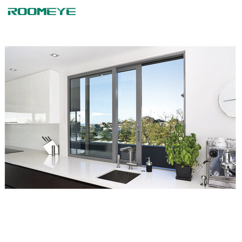 ROOMEYE new style glass window aluminium sliding windows on China WDMA