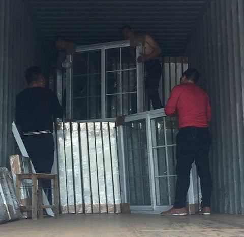 Ready made cheap white pvc sliding windows on China WDMA