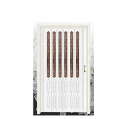 Reliable quality bathroom pvc doors prices plastic folding door cheap on China WDMA