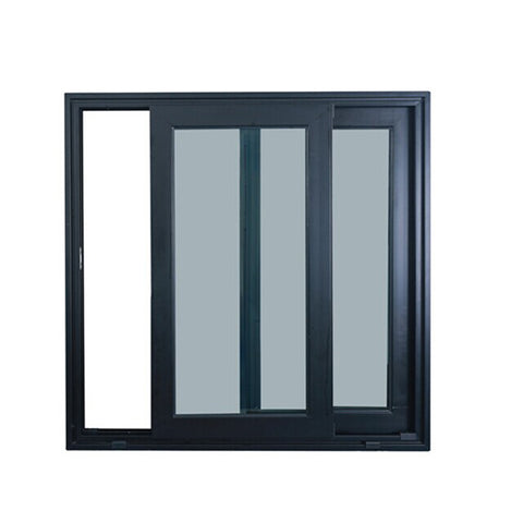 Residential customized aluminium sliding lowes windows with mosquito net price philippines on China WDMA