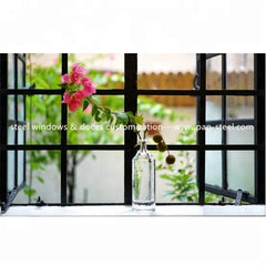 Restaurant door windows steel windows & doors grill design and customized on China WDMA