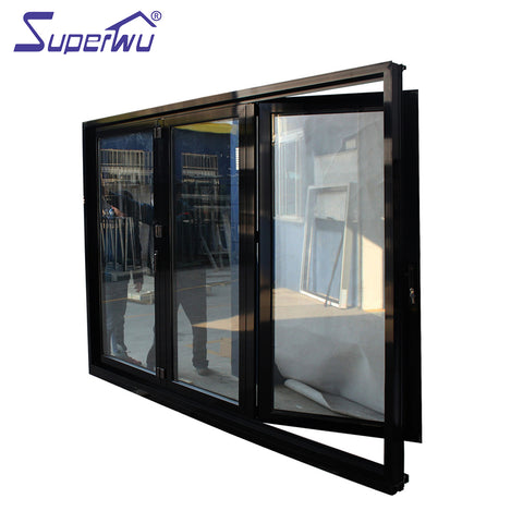 Retractable Mosquito Screen Folding/Bifold Door/foldable door on China WDMA