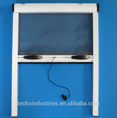 Retractable mosquito screen window on China WDMA