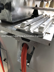 Rolling & Knurling Machine for Aluminum profile security armored door on China WDMA