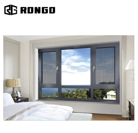 Rongo factory price folding aluminum accordion windows cost on China WDMA