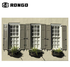 Rongo factory price louvre solar jalousie windows frosted glass on China WDMA