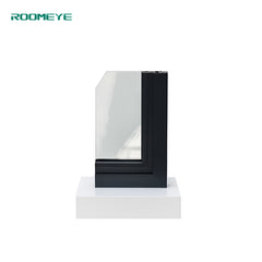 Roomeye aluminium french style double glass window on China WDMA
