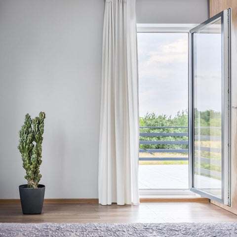 Roomeye aluminum exterior french door on China WDMA
