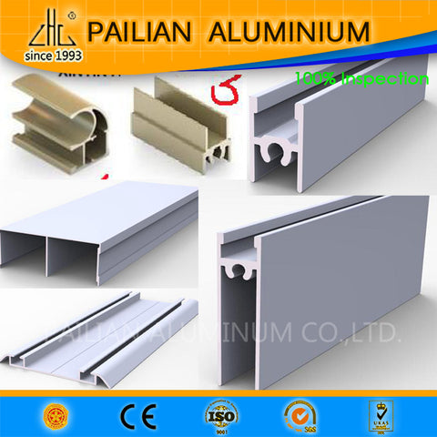 Russis aluminium sliding door system profiles , aluminum alloy sliding door frames for Russia market on China WDMA