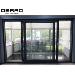 SCHUCO Aluminium Windows & Doors/Aluminium Lift&slide Door Patio Door on China WDMA