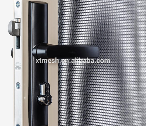 SS304 crim safe security door/security door screen/stainless steel security window screen mesh on China WDMA