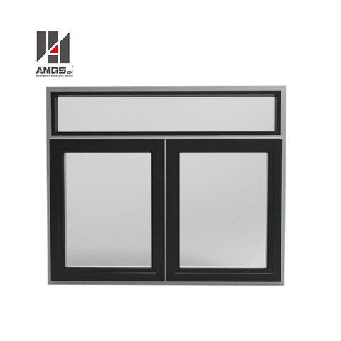 Safe Thermal Insulation French Window Al-Alloy Low Cost Hurricane Impact Windows on China WDMA