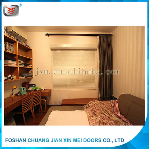 Safe and Secure Against Theft Aluminum Window Shutter on China WDMA