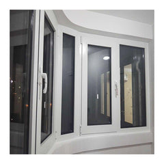Safety anti storm hurricane impact windows for coastal area